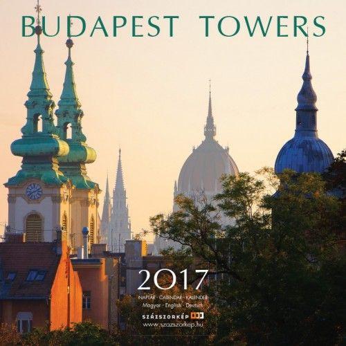 Budapest Towers - 2017 - falinaptár