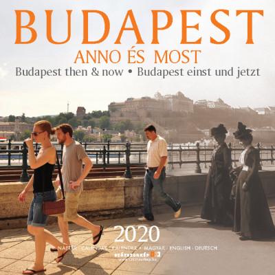 Budapest Anno és Most naptár 30x30 cm - 2020