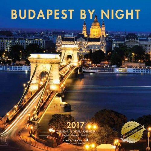 Budapest by Night - 2017 - falinaptár