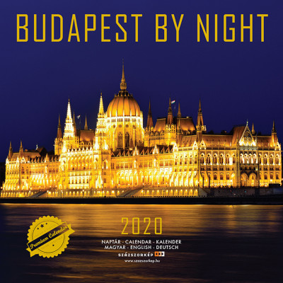 Budapest by night prémium naptár 2020 - 22x22 cm