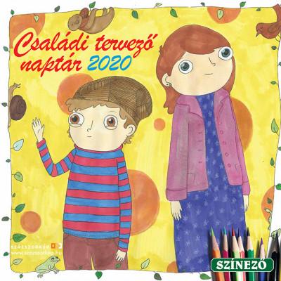 Családi Tervező naptár 30x30 cm - 2020