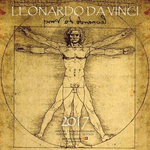 Leonardo da Vinci - 2017 - falinaptár