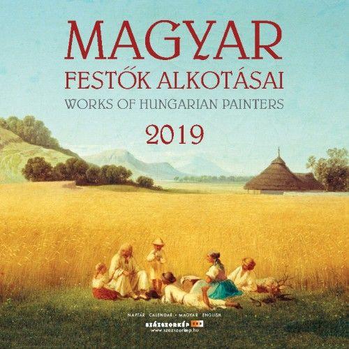 Naptár 2019 Magyar Festők Alkotásai