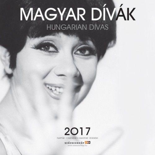 Magyar dívák - 2017 - falinaptár