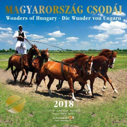 Magyarország Csodái Prémium naptár - 2018