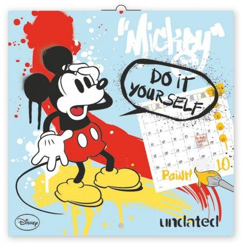 Mickey Mouse 2018 - Naptár