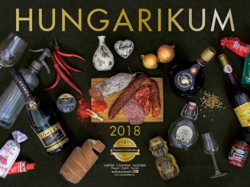 Hungarikum Prémium naptár - 2018