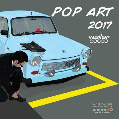 Pop Art - 2017 - falinaptár