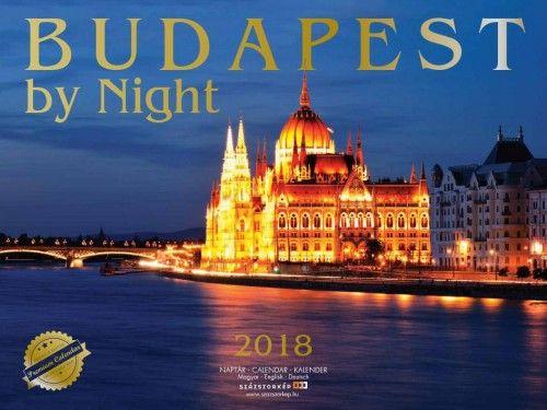 Budapest by Night Prémium naptár - 2018