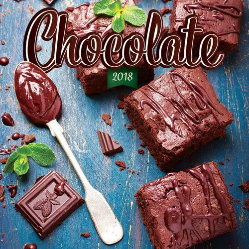 Chocolate - Csokoládé 2018 - illatosított Naptár