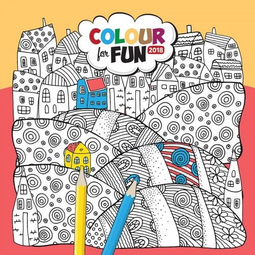 Colour for Fun 2018 - Naptár