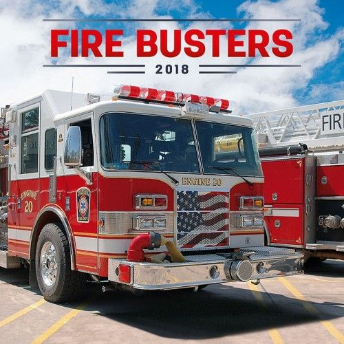 Fire Busters 2018 - Naptár