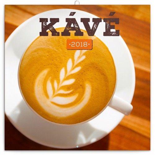 Coffee - Kávé 2018 - illatosított Naptár