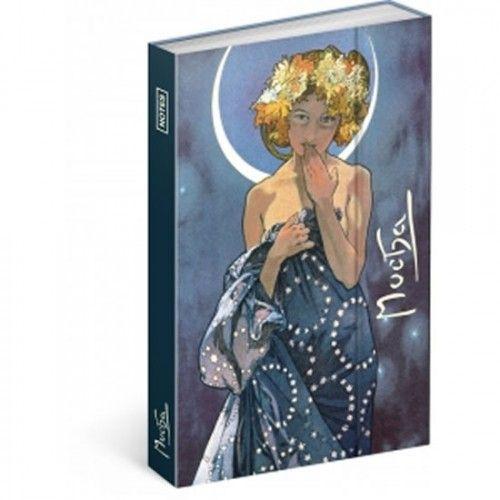 Alphonse Mucha – Luna jegyzetfüzet