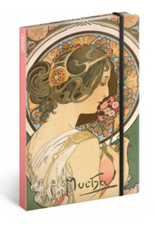 Alphonse Mucha – Primrose jegyzetfüzet