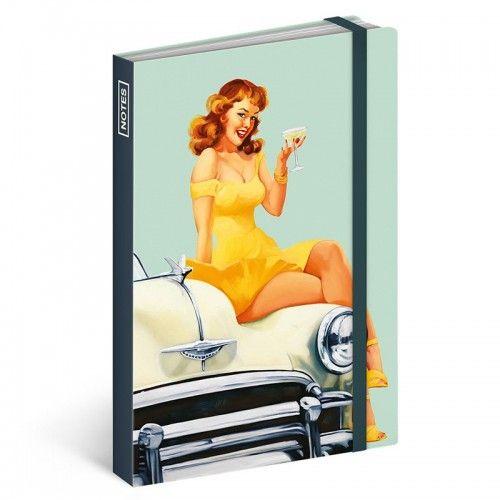 Pin-up Girls jegyzetfüzet