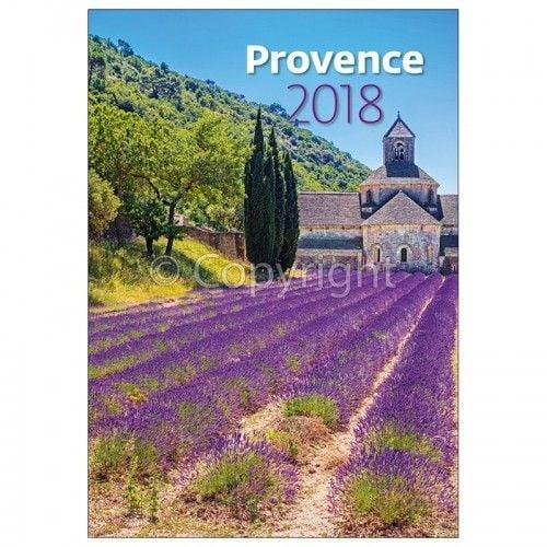 Provence 2018 - illatosított Naptár