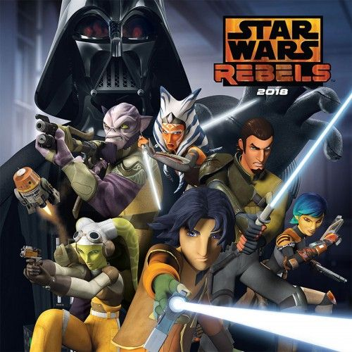 Star Wars – Rebels 2018 - Naptár