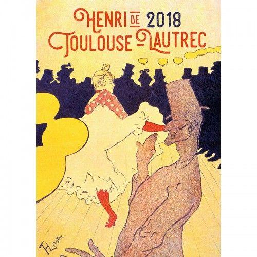 Henri de Toulouse-Lautrec 2018 - Naptár