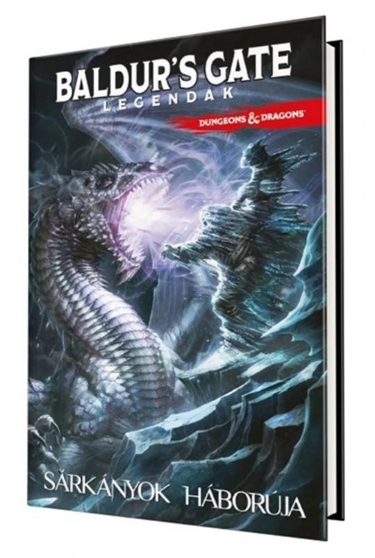 D&D: Baldur's Gate Legendák - Sárkányok háborúja - képregény
