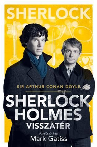 Sherlock Holmes visszatér (BBC-s borító)