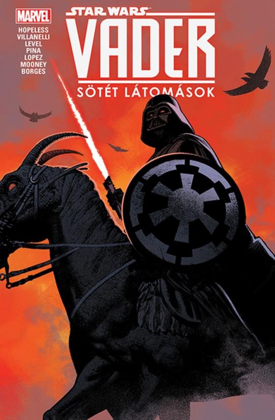 Star Wars: Vader - Sötét látomások - képregény