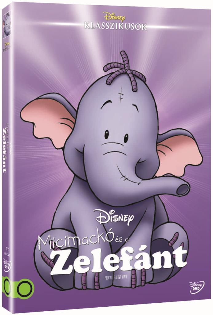 Micimackó és a Zelefánt (O-ringes, gyűjthető borítóval) - DVD