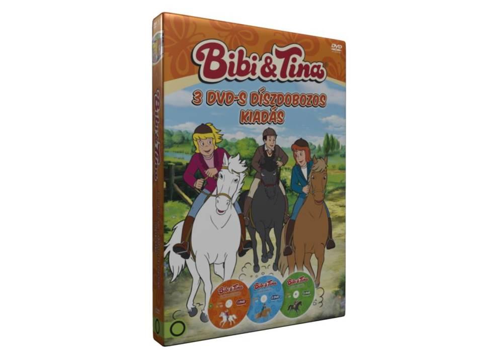 Bibi és Tina 1-3 Díszdoboz - DVD