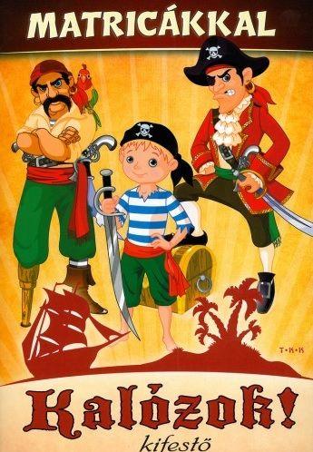 Kalózok! Kifestő matricákkal