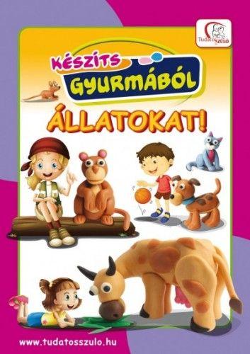 Készíts gyurmából állatokat! -  pdf epub