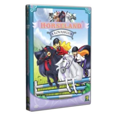 Lovasklub - Horseland 1. -  DVD
