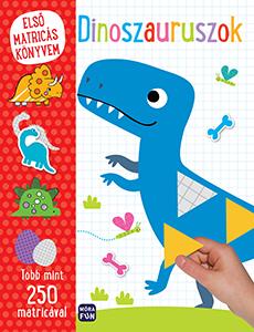 Első matricás könyvem - Dinoszauruszok