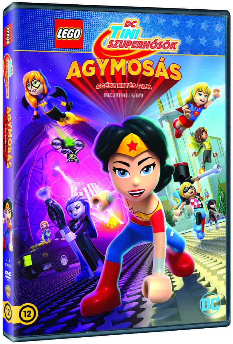 LEGO Tini szuperhősök – Agymosás - DVD