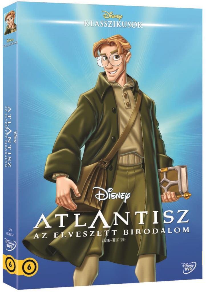 Atlantisz - Az elveszett birodalom (O-ringes, gyűjthető borítóval) - DVD