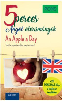 PONS 5 perces angol olvasmányok – An Apple a Day