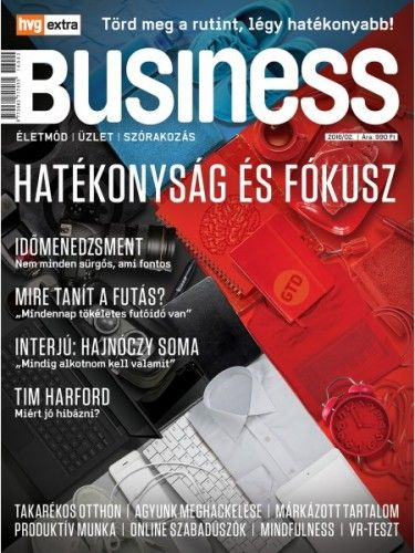 HVG Extra Magazin - Business 2016/02