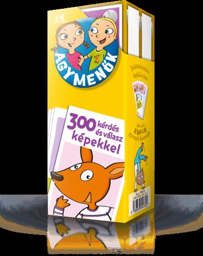 Agymenők kártyacsomag 5-6 éveseknek -  pdf epub