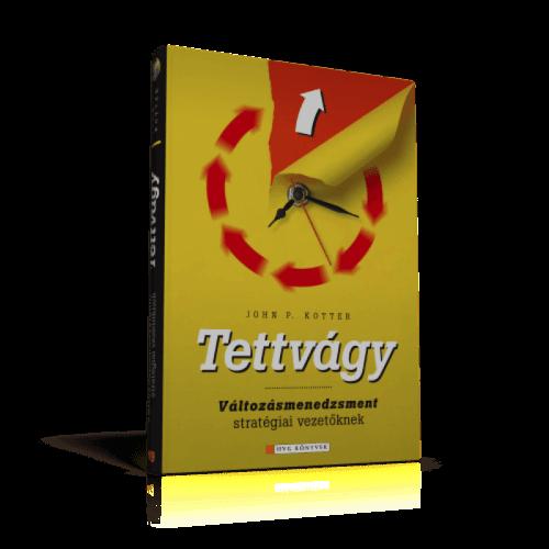 Tettvágy - John P. Kotter pdf epub