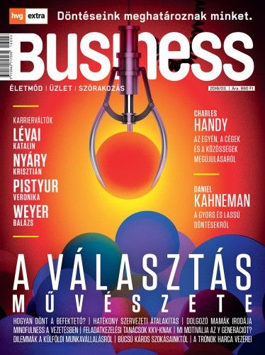 HVG Extra Magazin - Business 2016/03