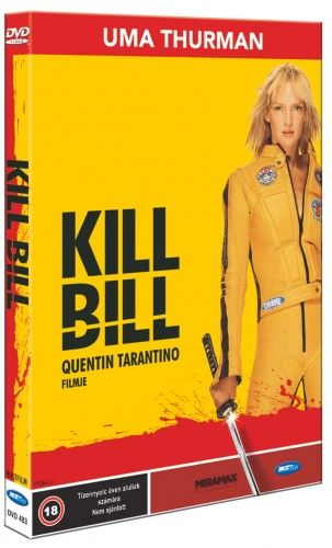 Quentin Tarantino - Kill Bill-DVD