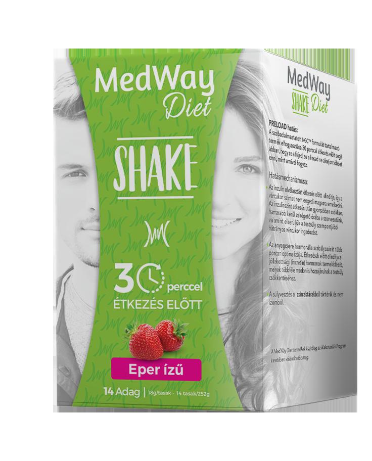 Medway Diet Shake - Eper ízű