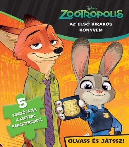Szivacsos kirakókönyv - Zootropolis